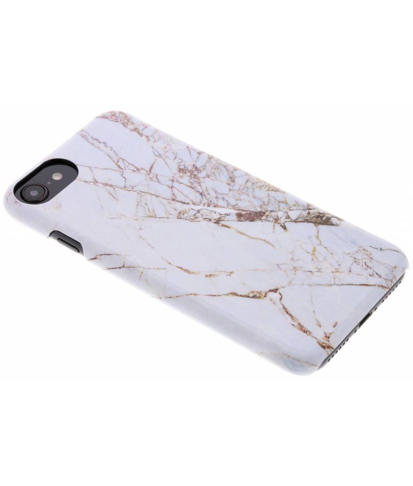 Selencia White Marble Passion Hard Case iPhone 8 / 7 / 6 / 6s