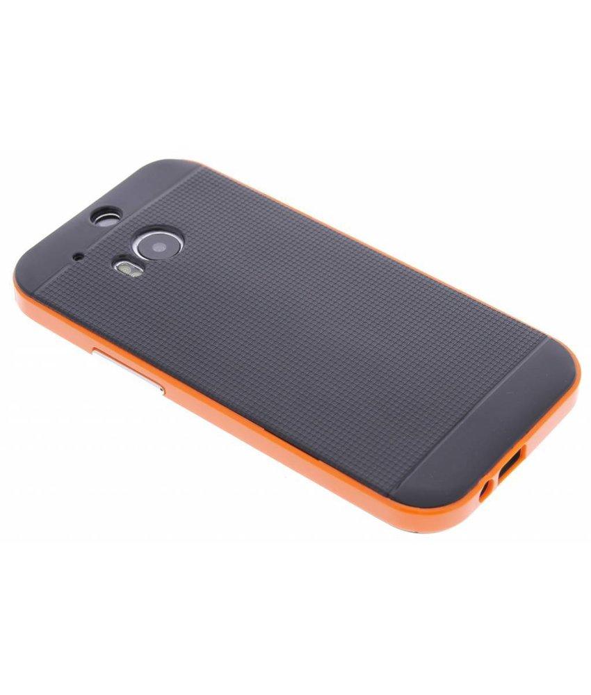 Oranje TPU Protect case HTC One M8 / M8s
