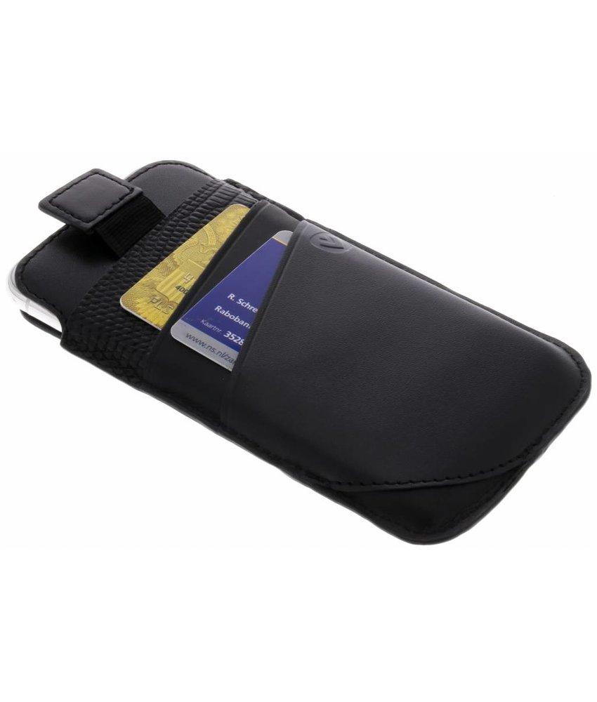 Valenta Zwart Pocket Supreme iPhone X