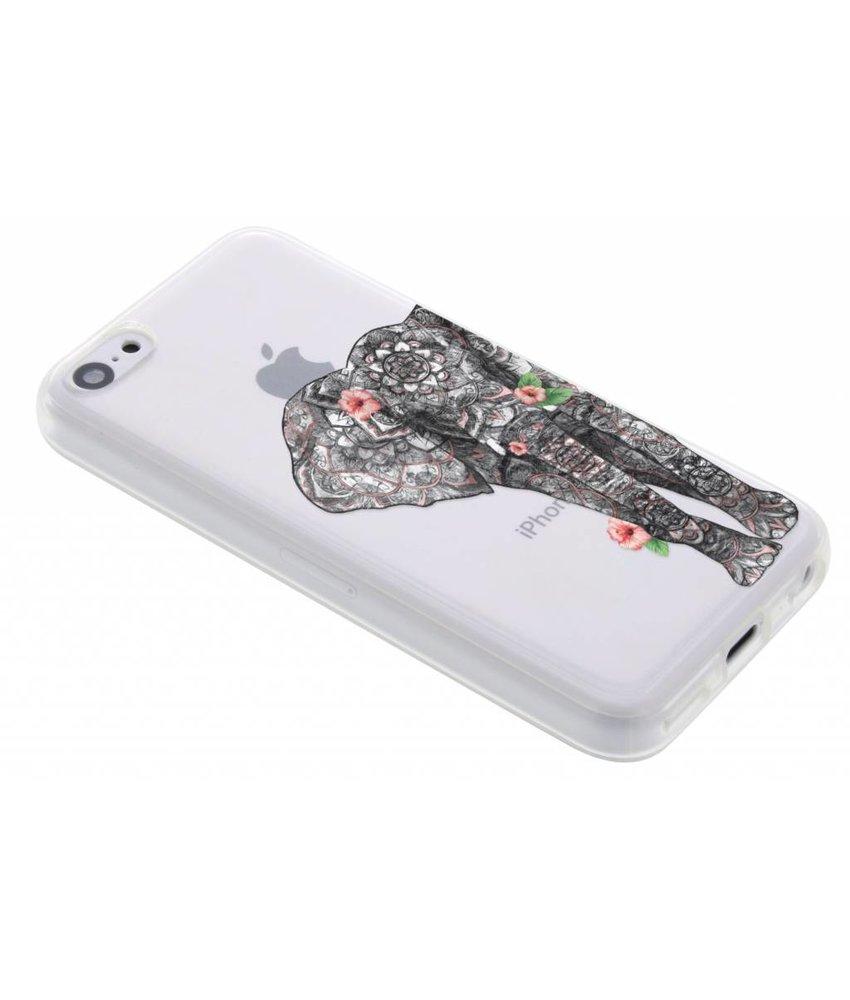 Dieren design TPU hoesje iPhone 5c