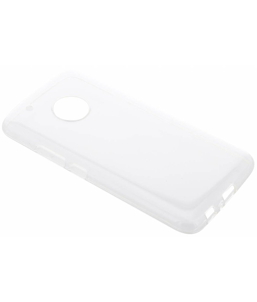 Transparant gel case Motorola Moto G5 Plus