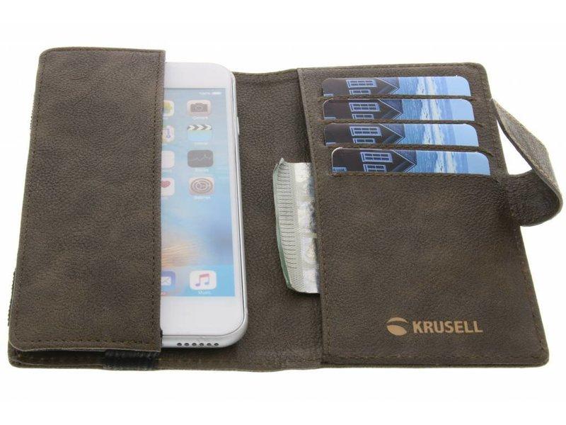 Samsung Galaxy S7 hoesje - Krusell Bruine Vargön Universal