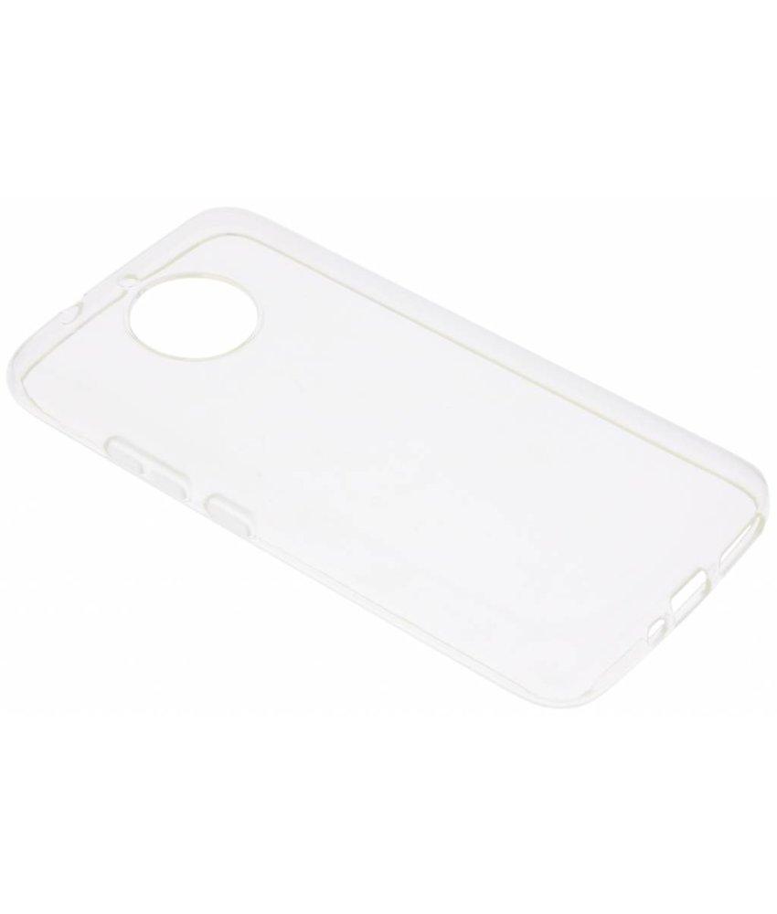 Transparant gel case Motorola Moto G5S