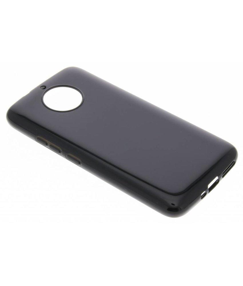 Zwart gel case Motorola Moto G5S