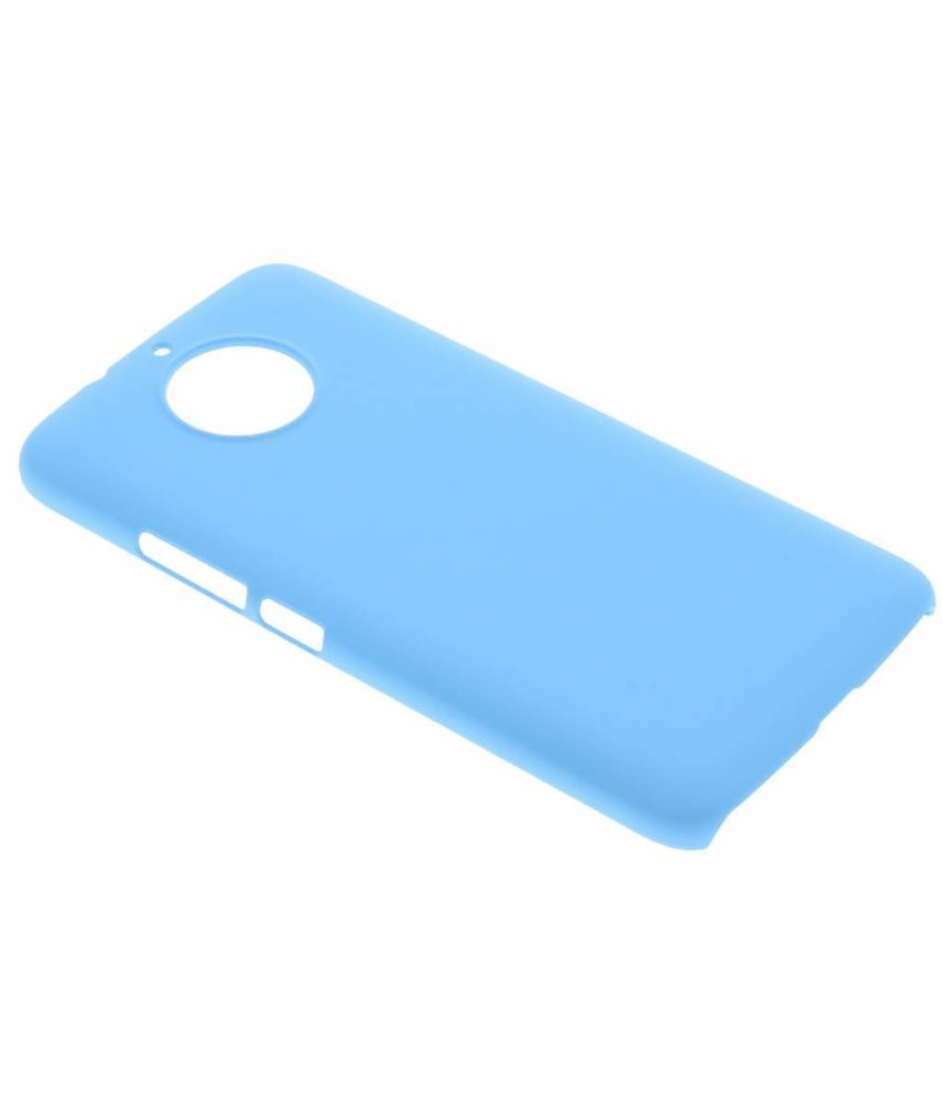 Turquoise effen hardcase hoesje Motorola Moto G5S
