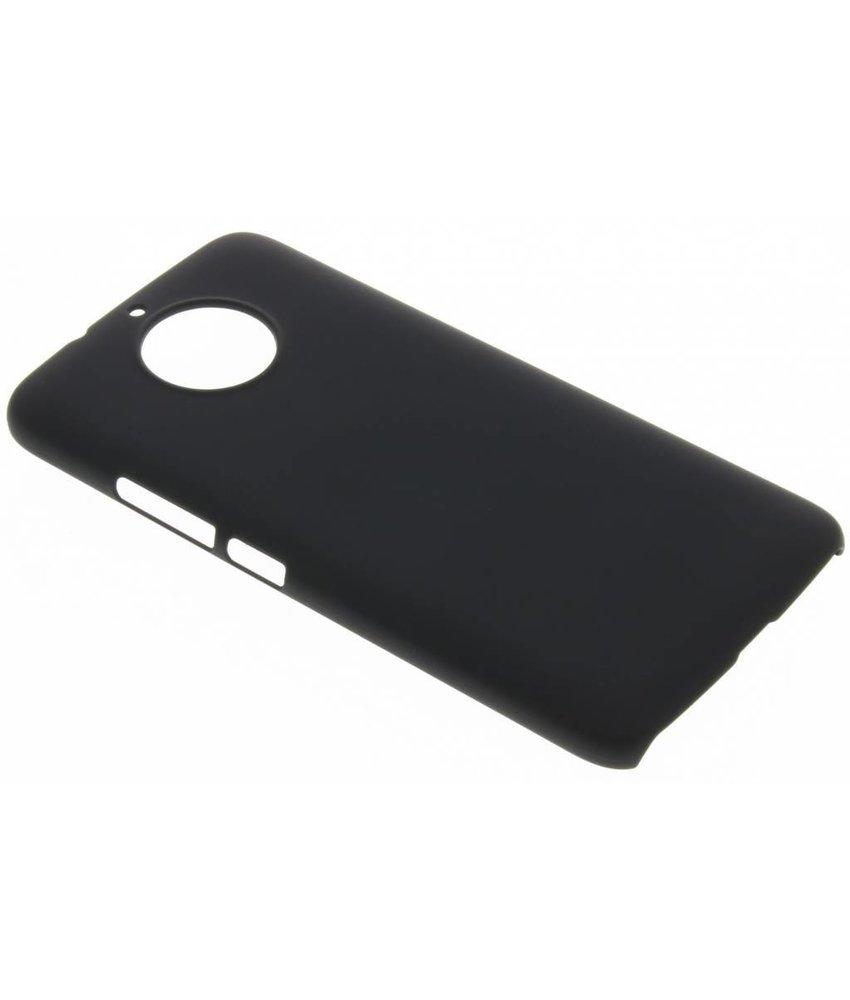 Zwart effen hardcase hoesje Motorola Moto G5S