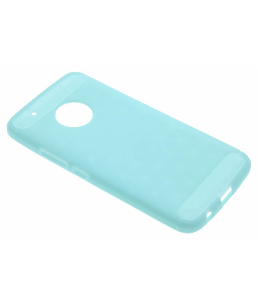 Turquoise Brushed TPU case Motorola Moto G5 Plus