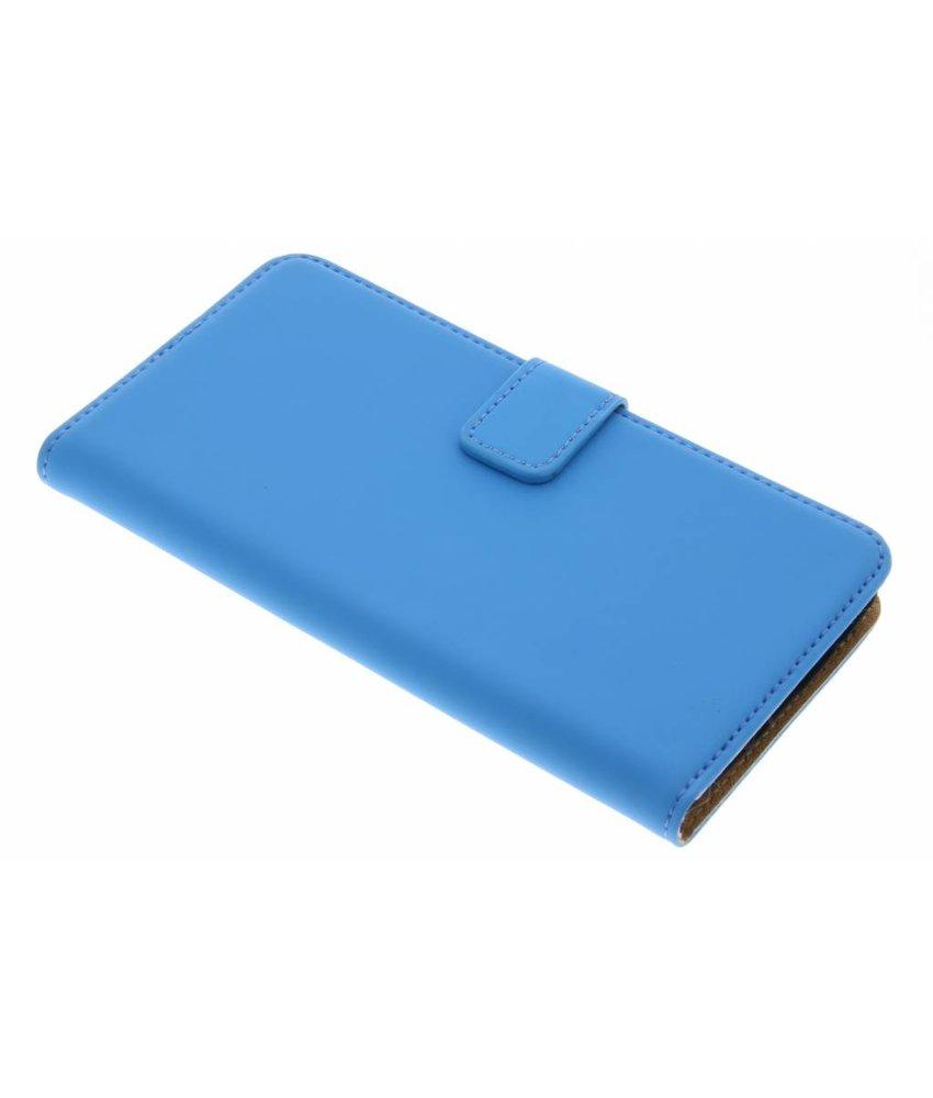 Selencia Blauw Luxe Book Case Motorola Moto G5 Plus