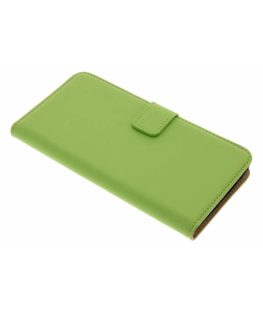 Selencia Groen Luxe Book Case Motorola Moto G5 Plus