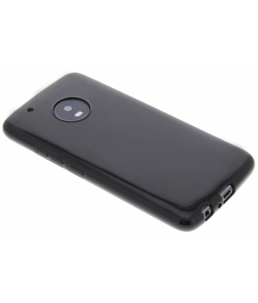 Zwart gel case Motorola Moto G5 Plus