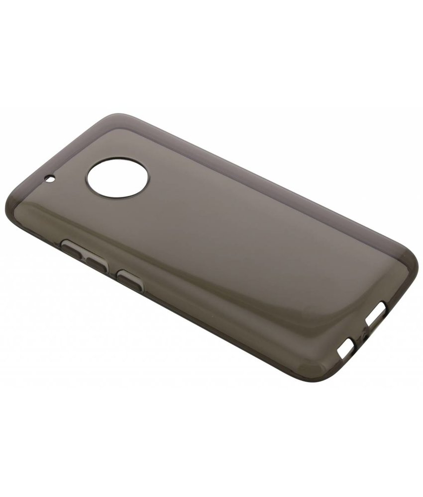 Grijs transparant gel case Motorola Moto G5 Plus