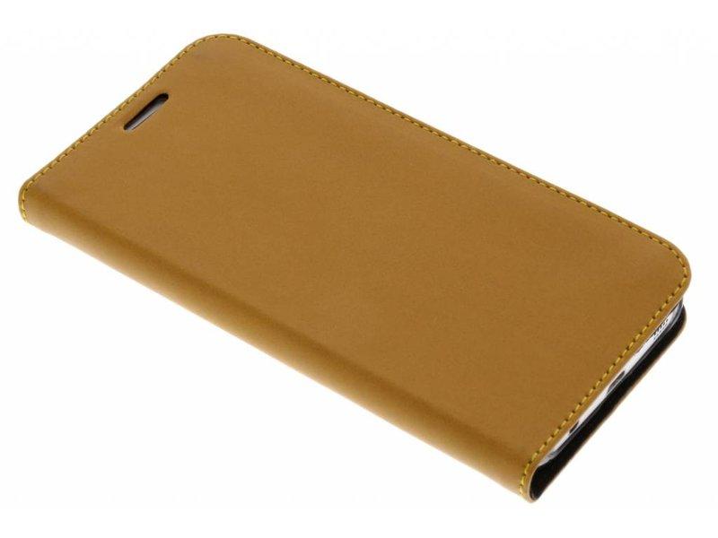 Livret Brun Style Classique Pour Samsung Galaxy S7 UH7iLB8