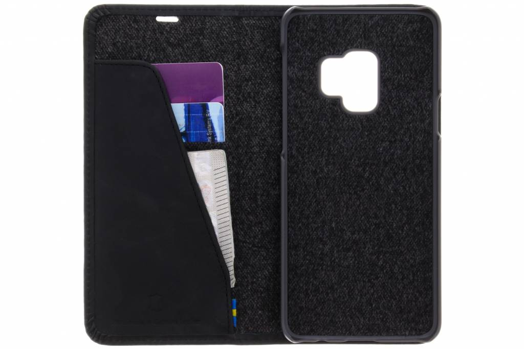 Portefeuille Folio Noir Sunne Pour Samsung Galaxy S9 13THycPTU