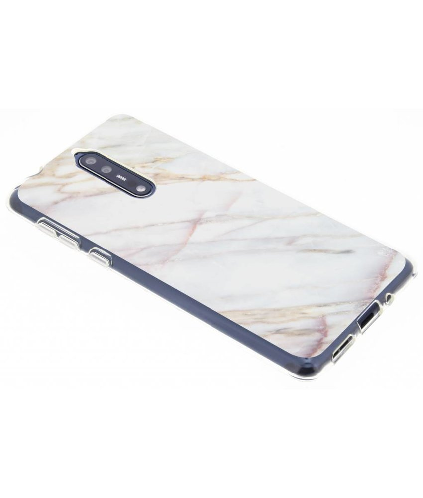 Marmer design TPU hoesje Nokia 8