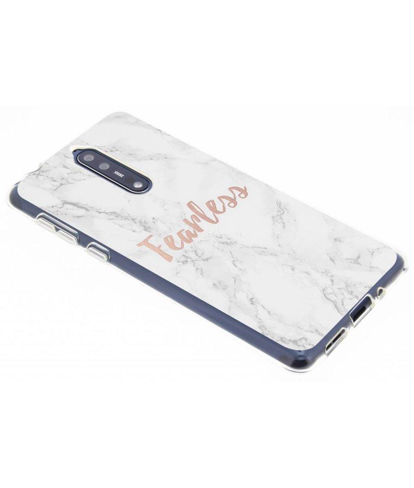 Quote design TPU hoesje Nokia 8