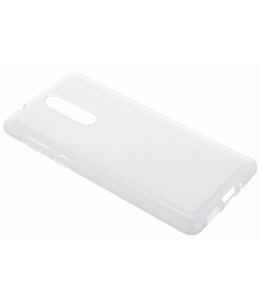 Transparant gel case Nokia 8