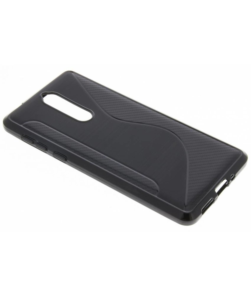 Zwart S-line TPU hoesje Nokia 8