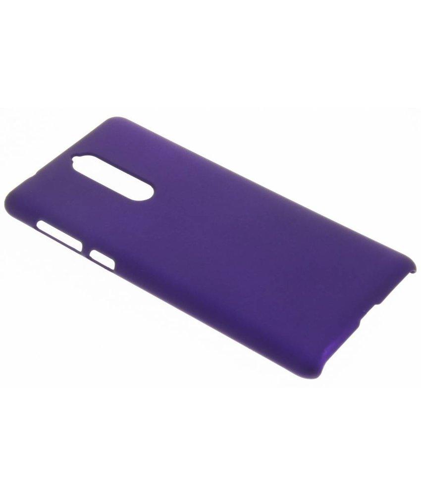 Paars effen hardcase hoesje Nokia 8