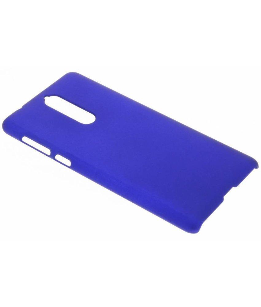 Blauw effen hardcase hoesje Nokia 8