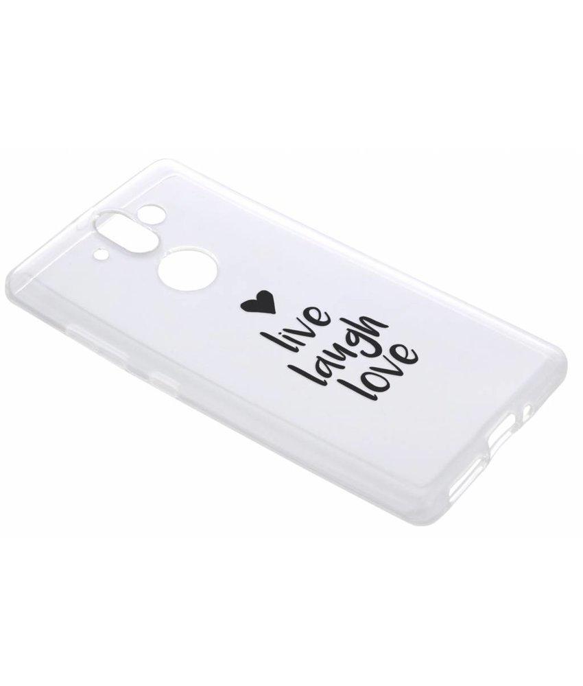 Quote design TPU hoesje Nokia 8 Sirocco