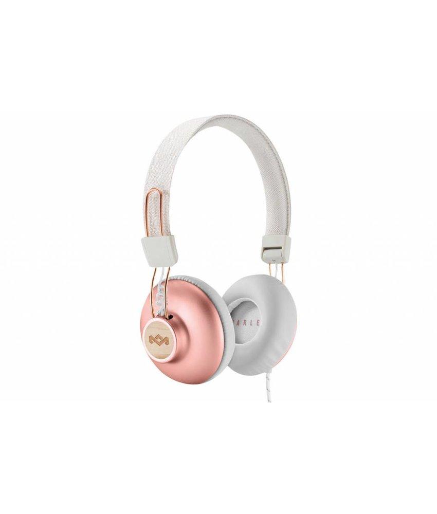 House of Marley Rosé Goud Positive Vibration 2 Headphones