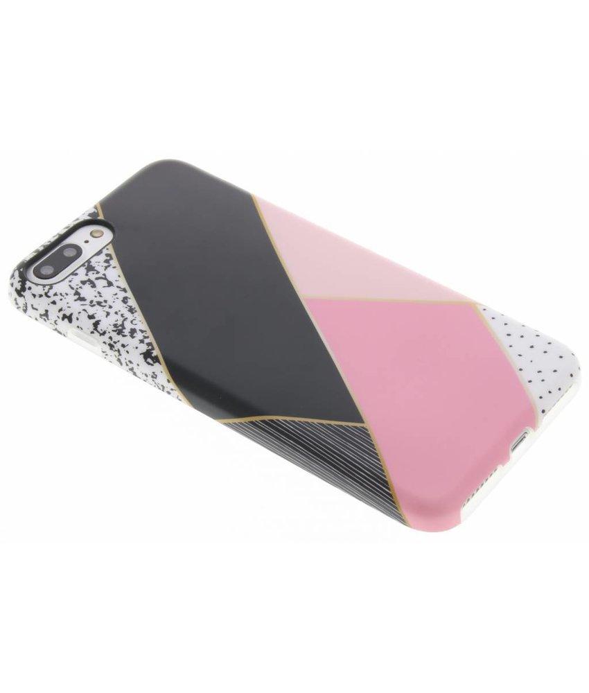 Grafisch TPU hoesje iPhone 8 Plus / 7 Plus