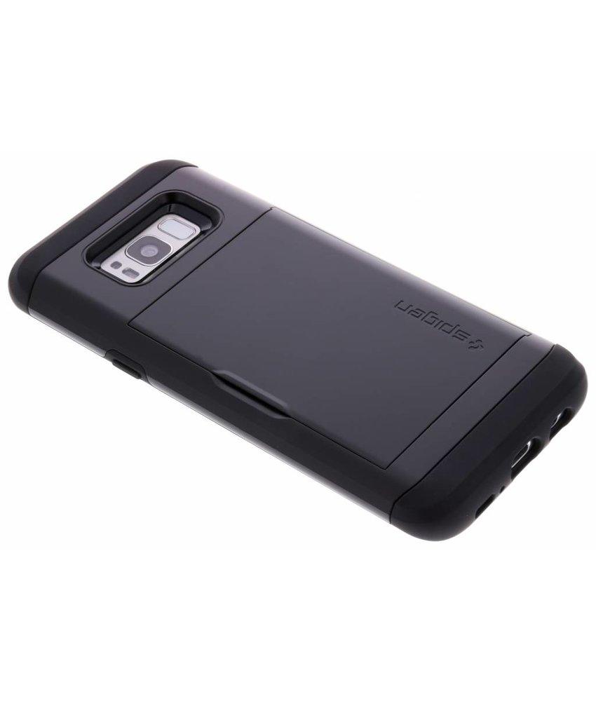 Spigen Zwart Slim Armor™ CS Case Samsung Galaxy S8 Plus