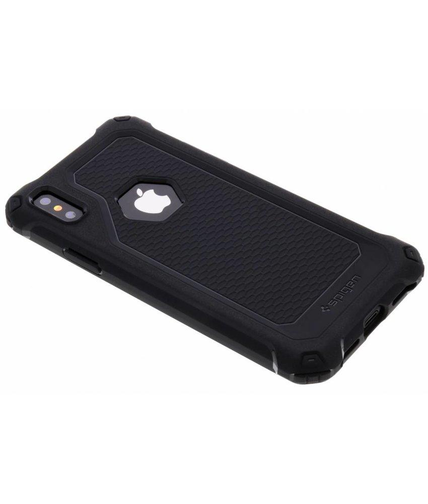 Spigen Zwart Rugged Armor™ Extra Case iPhone X