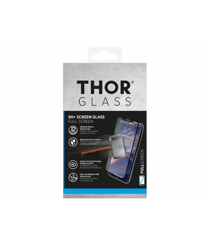 THOR 9H+ Full Screen Glass Screenprotector iPhone Xs / X