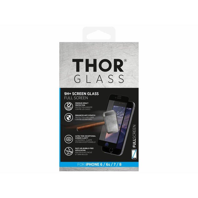 THOR 9H+ Full Screen Glass Screen Protector iPhone 8 / 7 / 6(s)