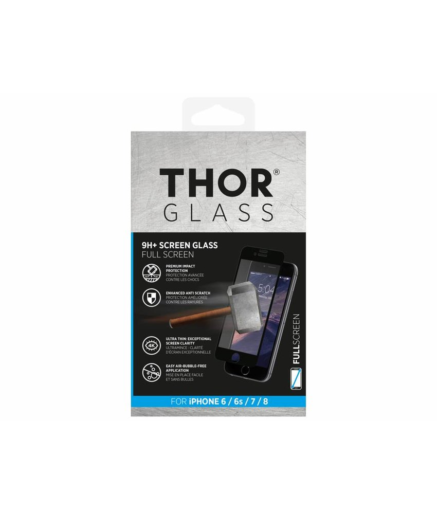 THOR 9H+ Full Screen Glass Screen Protector iPhone 8 / 7 / 6(s)