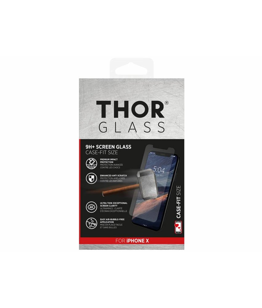 THOR 9H+ Case-Fit Glass Screen Protector iPhone X