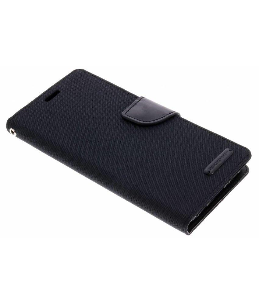 Mercury Goospery Canvas Diary Case Samsung Galaxy S9 Plus