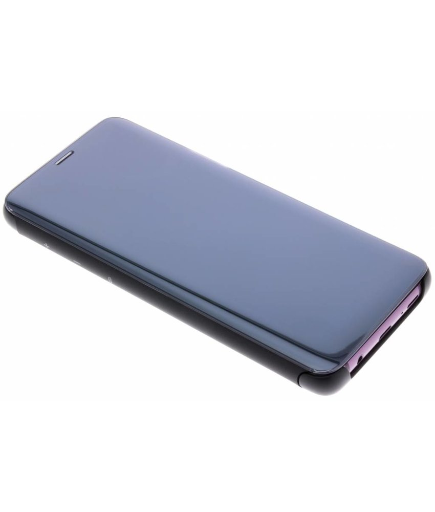 Samsung Zwart Clear View Standing Cover Galaxy S9 Plus