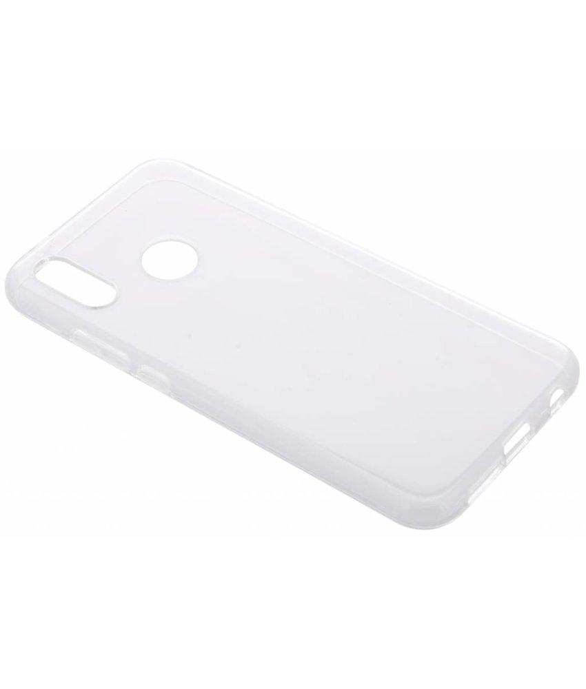 Transparant gel case Huawei P20 Lite