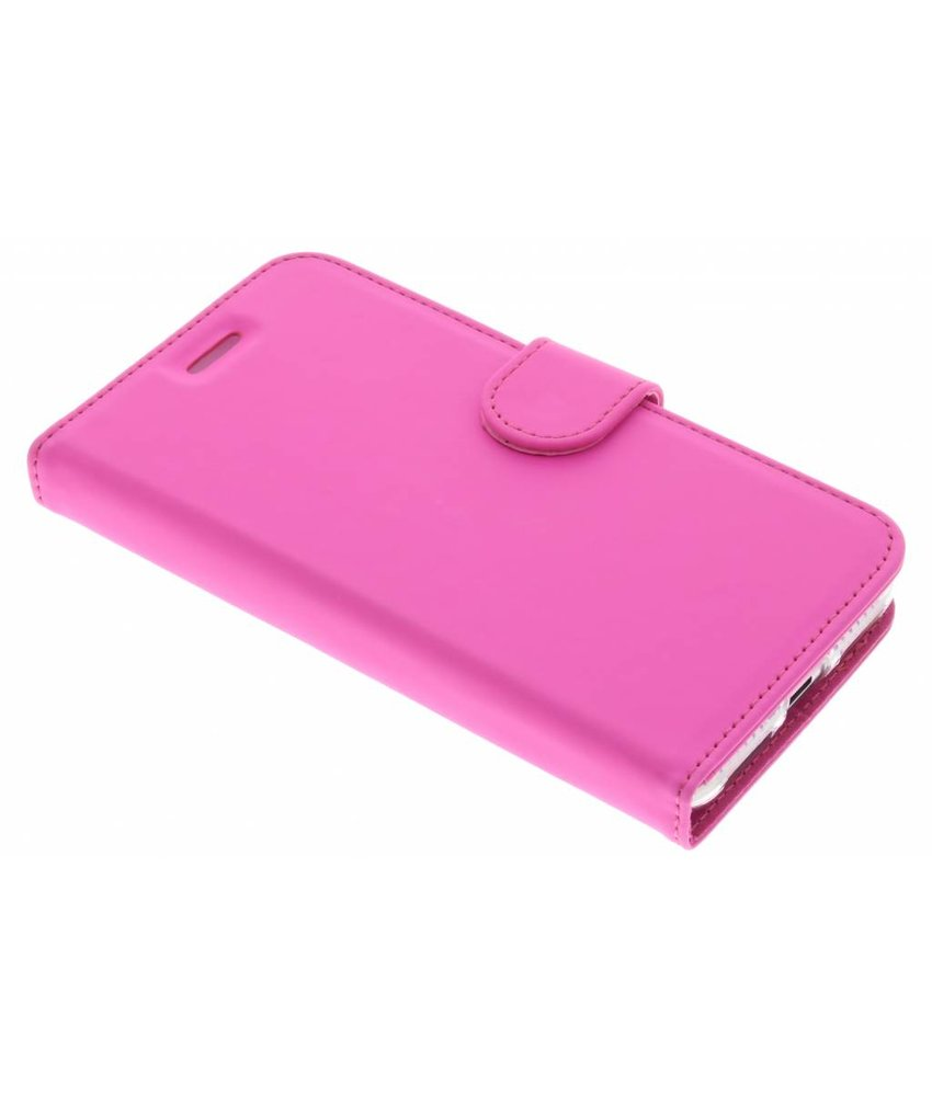 Accezz Roze Wallet TPU Booklet Huawei Y5 2 / Y6 2 Compact
