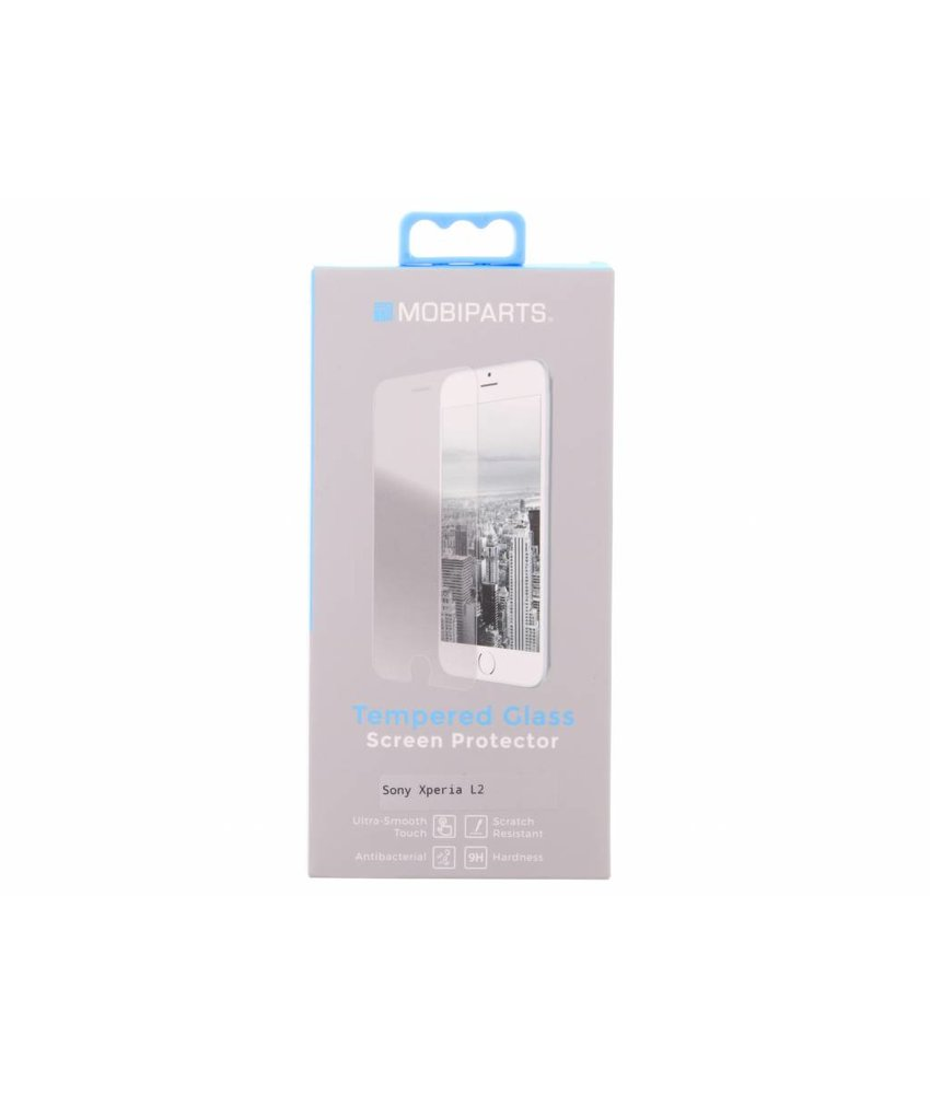 Mobiparts Tempered Glass Screen Protector Sony Xperia L2