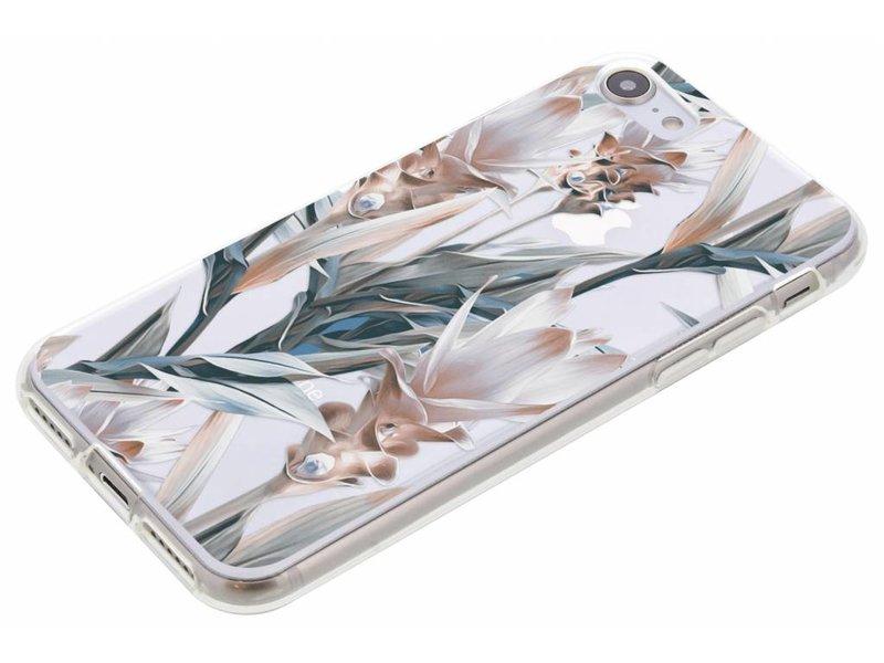 Bloemen design siliconen hoesje voor de iPhone 8 / 7