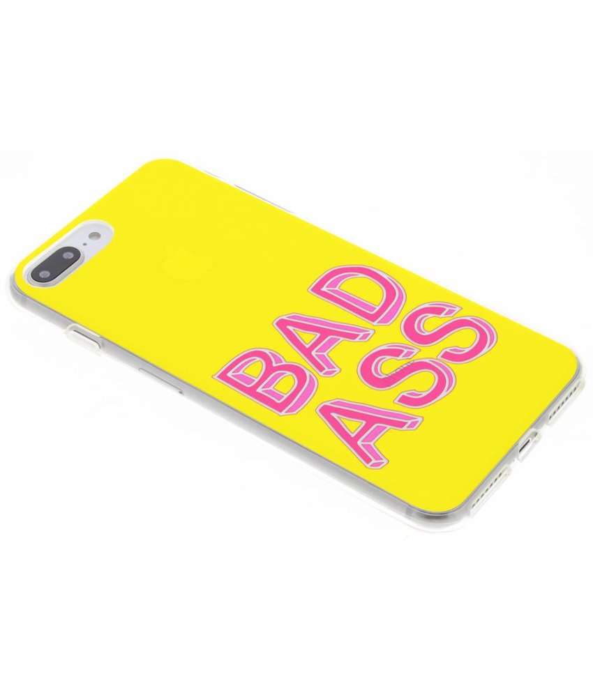 Rebel design siliconen hoesje iPhone 8 Plus / 7 Plus