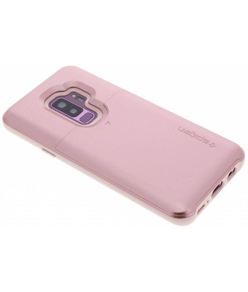 Spigen Rosé Goud Slim Armor™ CS Case Samsung Galaxy S9 Plus
