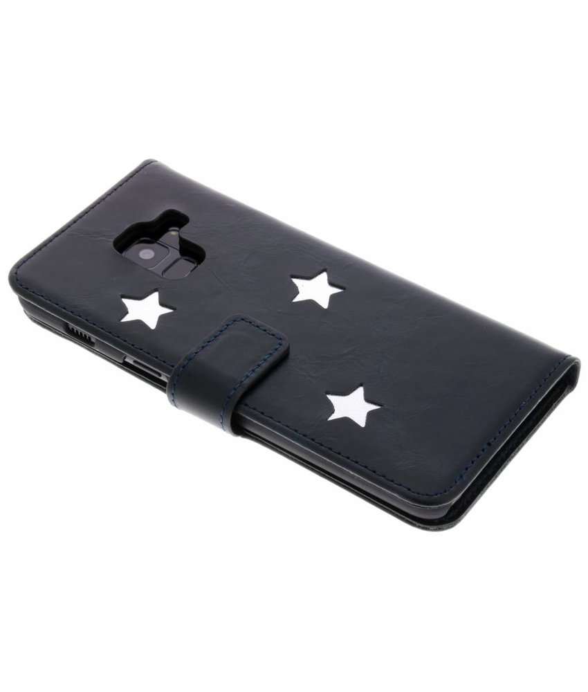 Fabienne Chapot Silver Reversed Star Booktype Samsung Galaxy A8 (2018)