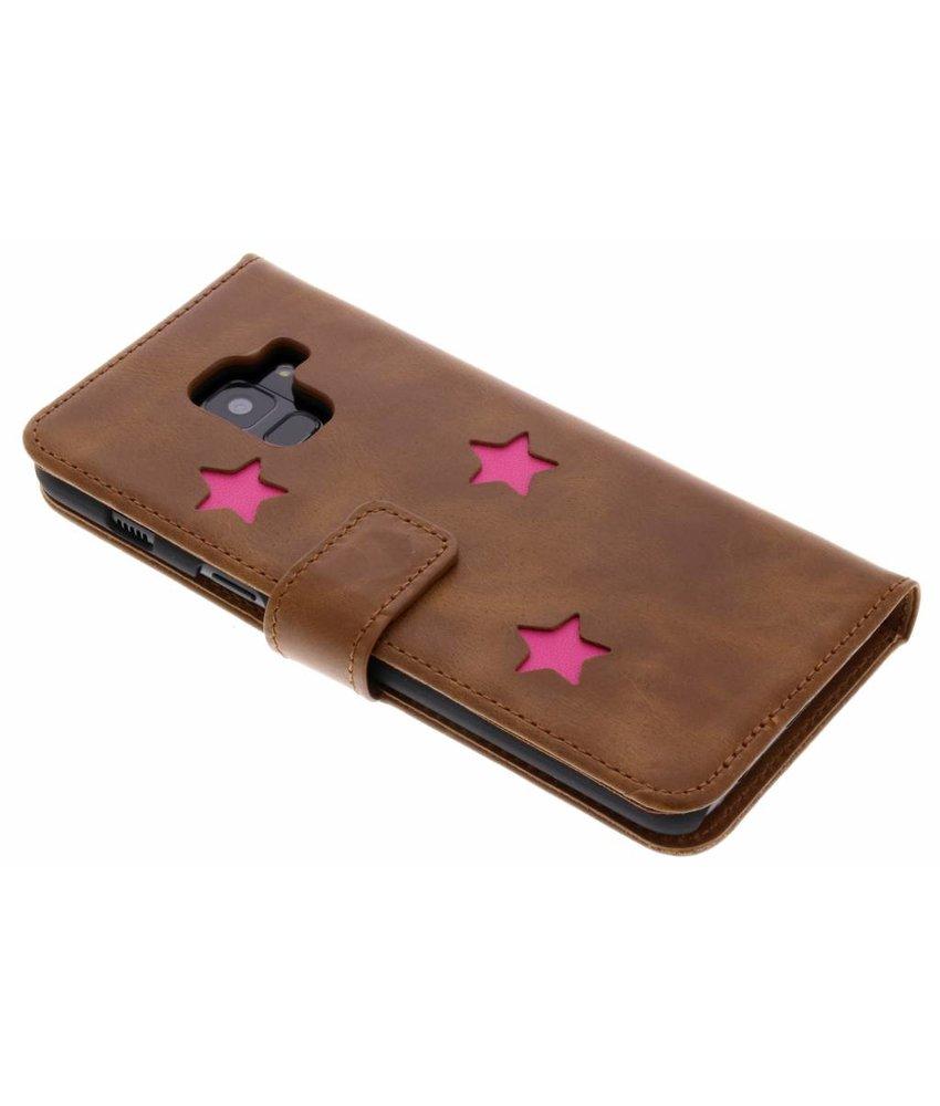 Fabienne Chapot Pink Reversed Star Booktype Samsung Galaxy A8 (2018)