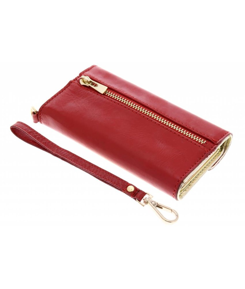 Valenta Rood Wallet Classic Gloss iPhone 5 / 5s / SE