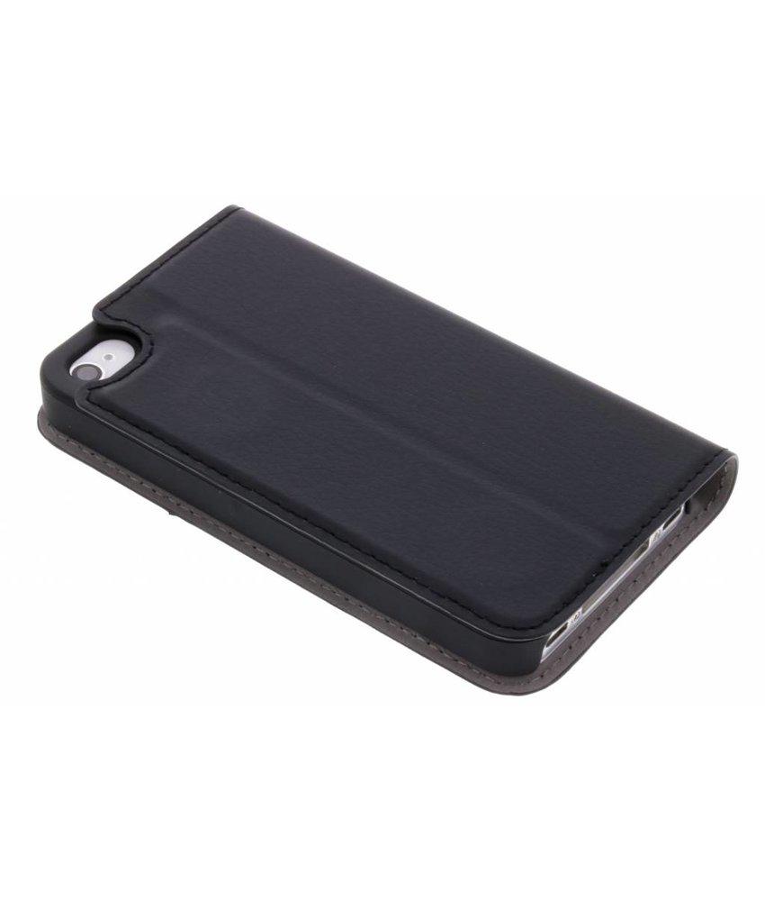 Zwart Effen Booklet iPhone 4 / 4s