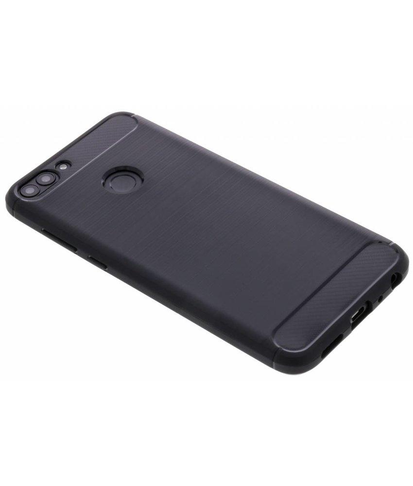 Zwart Brushed TPU case Huawei P Smart