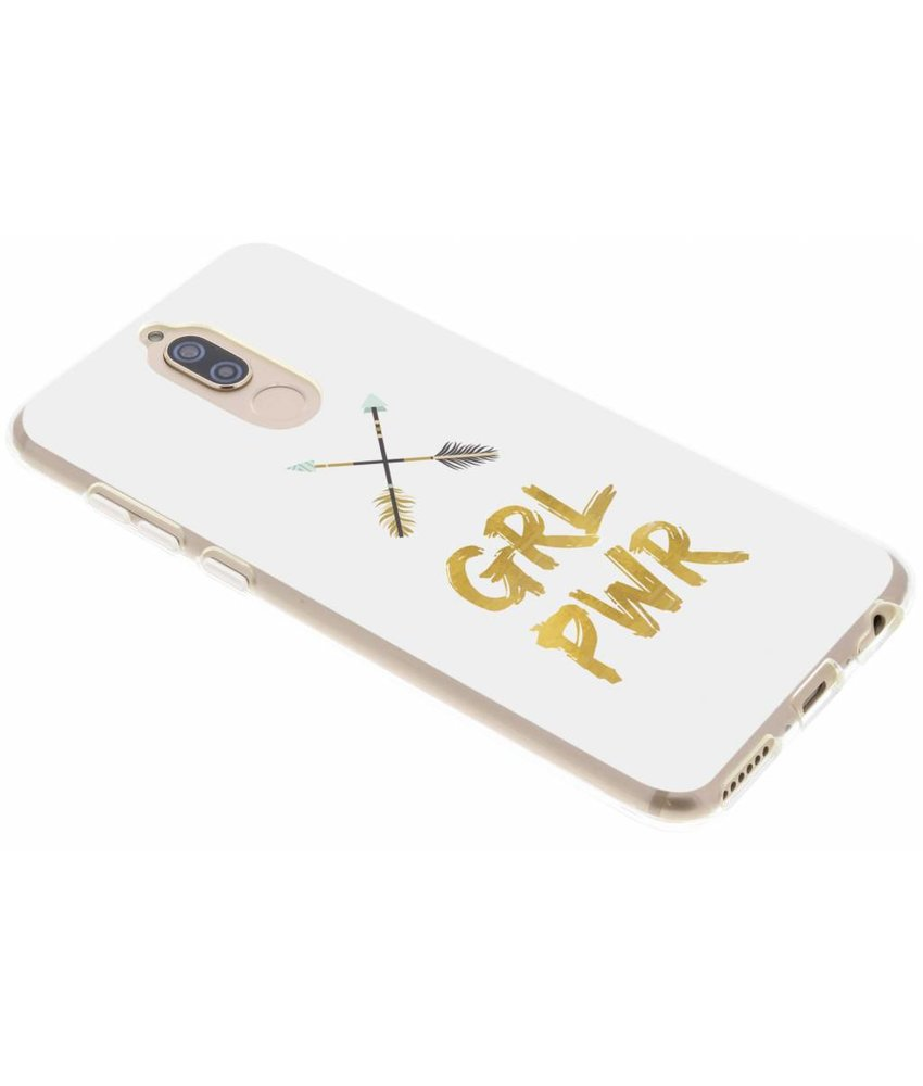 Quote design TPU hoesje Huawei Mate 10 Lite