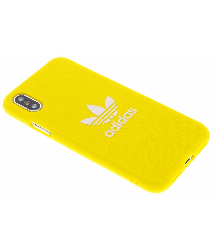 adidas Originals Geel Adicolor Moulded Case iPhone Xs / X