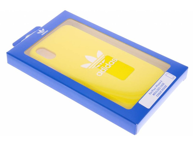 adidas Originals Gele Adicolor Moulded Case voor de iPhone Xs / X