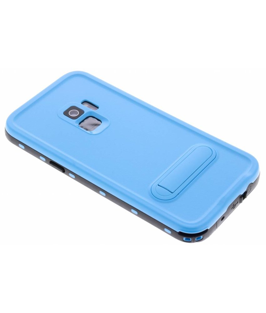Redpepper Blauw Dot Waterproof Case Samsung Galaxy S9