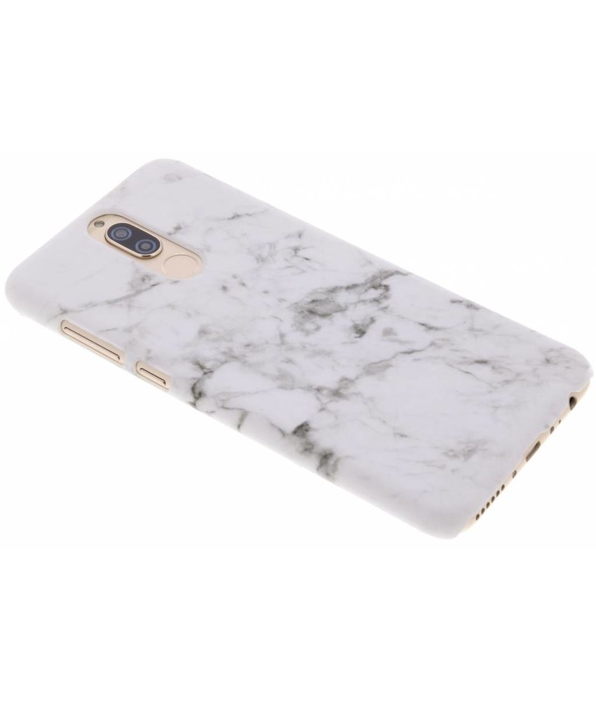 Marmer look hardcase hoesje Huawei Mate 10 Lite
